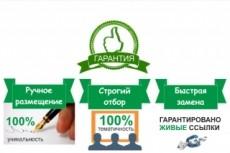 Размещу 30 естественных ссылок на Ваш сайт 23 - kwork.ru
