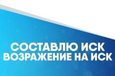 Составлю иск о взыскании алиментов 18 - kwork.ru
