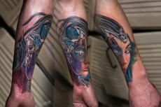 Нарисую индивидуальный эскиз татуировки 13 - kwork.ru