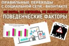 Направлю качественный трафик на Ваш сайт из любых источников 36 - kwork.ru