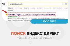Настройка контекстной рекламы Яндекс Директ поиск+рся 22 - kwork.ru