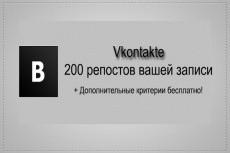 1500 лайков Вконтакте 4 - kwork.ru