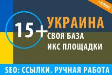 18 ссылок с сайтов строительной тематики + Бонус 28 - kwork.ru