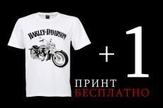 Принты на футболку 29 - kwork.ru