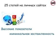 Размещаю уникальные, вечные статьи на жирных, трастовых сайтах  тиц 90  до 4100 3 - kwork.ru