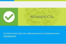 Исправлю ошибки валидации сайта по стандарту W3C 17 - kwork.ru