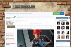 2  статьи на женских сайтах. 1400 хостов в сутки, вечные ссылки 26 - kwork.ru