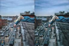 Ретушь со стилизацией дымом и обработкой фото 3 - kwork.ru