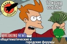 Ссылка в подписи на 3-х SEO-форумах на месяц 33 - kwork.ru