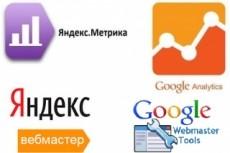 Настройка целей в Яндекс Метрике и Google Analitics 23 - kwork.ru