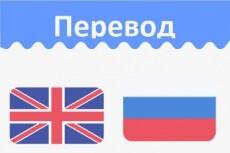Выполню перевод текста с английского языка на русский 21 - kwork.ru