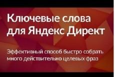 настрою Яндекс Директ 9 - kwork.ru