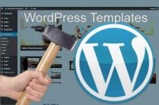 Настройка готового шаблона на вашем сайте WordPress 9 - kwork.ru