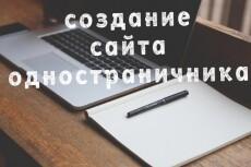 Продающий сайт одностраничник 23 - kwork.ru