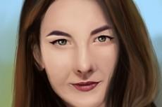 Нарисую портрет в Adobe Photoshop 30 - kwork.ru