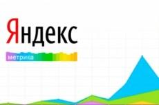 Настрою цели и установлю счетчик Яндекс метрику 7 - kwork.ru