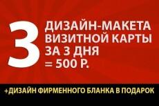 4 варианта логотипа + визитная карта 11 - kwork.ru