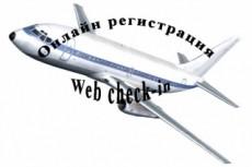 Помогу забронировать билет на чартер 15 - kwork.ru