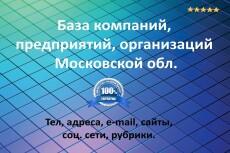 База предприятий и организаций Казань 6 - kwork.ru