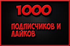 10000 подписчиков в instagram и 6000 лайков 10 - kwork.ru