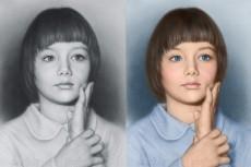 отретуширую старое или поврежденное фото 5 - kwork.ru