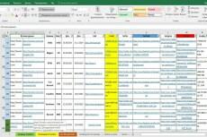 Выполню работу в Excel 5 - kwork.ru