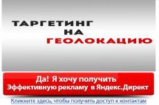 Профессиональная настройка Яндекс.Директ 6 - kwork.ru