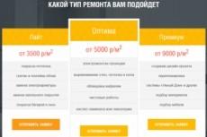 Ваш конструктор адаптивных лендинг-страниц Landing Page с установкой 65 - kwork.ru