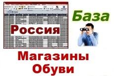 База прачечных и химчисток России 36 - kwork.ru