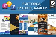 Буклет-трифолд. Дизайн, верстка, допечать 34 - kwork.ru