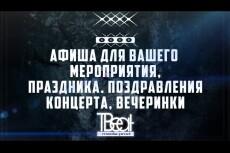 Афиши 101 - kwork.ru