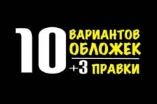Сделаю обложку для книги 28 - kwork.ru