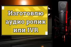 Дикторская начитка, реклама, автоответчик, презентация 3 - kwork.ru
