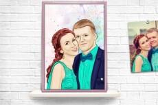 Нарисую открытку 48 - kwork.ru