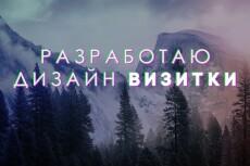 Дизайн макет визитки 44 - kwork.ru