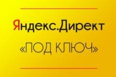 Настройка Яндекс Директ. Поиск + РСЯ в одном кворке 25 - kwork.ru