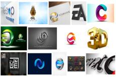 Продам логотип в 3D 21 - kwork.ru