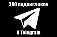+100 подписчиков на ваш канал, бот, чат в Телеграм 8 - kwork.ru