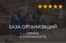 База данных охрана и безопасность 3 - kwork.ru