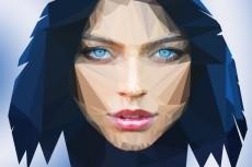 рисунок в стиле поп арт 7 - kwork.ru