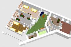 Создам 3D модель квартиры 9 - kwork.ru