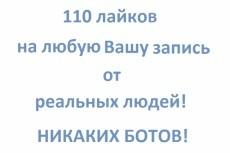 +110 репостов на Вашей записи! 5 - kwork.ru