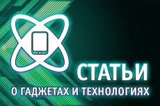 Статьи о гаджетах и технологиях 3 - kwork.ru