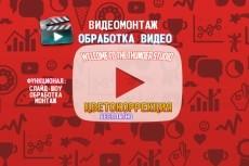 Монтаж видео. Цветокоррекция видео 13 - kwork.ru
