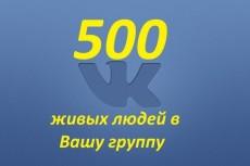 500 живых подписчиков к Вам на страницу 5 - kwork.ru