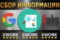 Найду для вас любую информацию 8 - kwork.ru