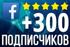 800 русских подписчиков на страницу Facebook 7 - kwork.ru
