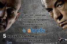 Вечные ссылки из соцсетей. Общая аудитория более 120 000 подписчиков 20 - kwork.ru