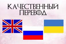 Перевод с английского на русский 14 - kwork.ru