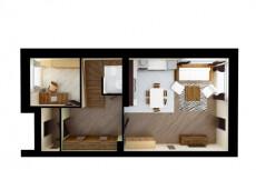 Планировка и визуализация помещений и интерьера 22 - kwork.ru